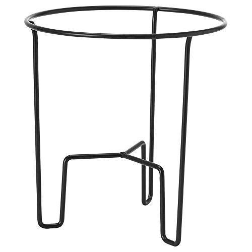 Ikea SOMMAR 2018 Piedistallo per piante, interno/esterno, nero 26 cm