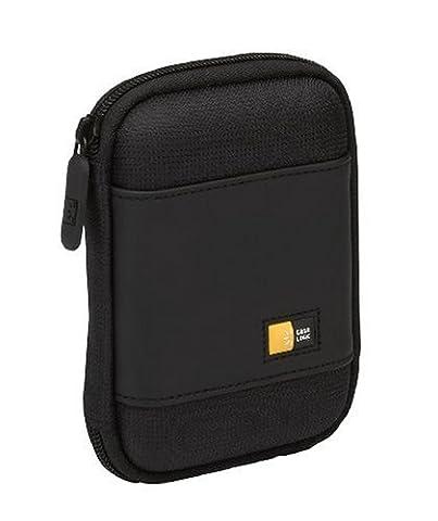 Case Logic Compact Portable Hard Drive Case Étui pour disque dur portable éthylène-acétate de vinyle moulé noir