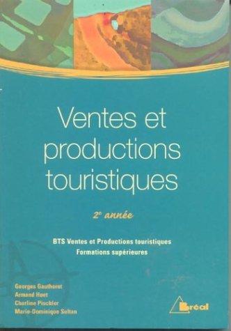 Ventes et productions touristiques 2e année