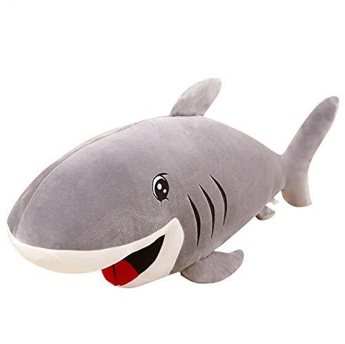Spielzeug Gefüllte Seefisch Tiere Große Größe Hai Puppe Kissen Kissen Spielzeug Für Kinder Geburtstagsgeschenke 55 cm ()