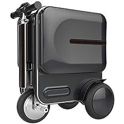 Smart Travel Equipaje Maleta Plegable Equipaje Eléctrico Scooter Coche 29,3 L Sets De Equipaje,Black