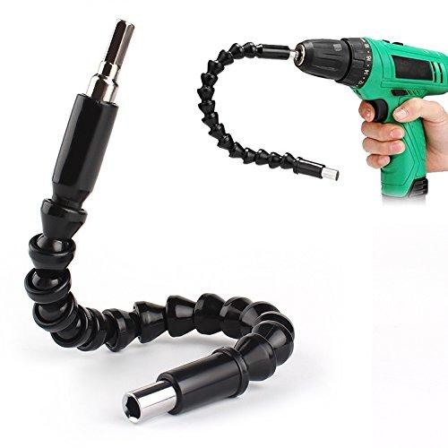 ITimo - Destornillador universal de eje flexible Hex Flex para taladro eléctrico eje flexible, eje...