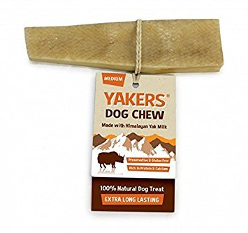 Yakers Dog Chew Medium x 2 – Yak Milk Value Pack of 2 – Save!