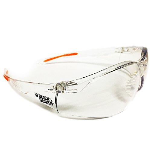 Black+Decker Sicherheit Klar Rahmen & Objektiv Eyewear Unisex Brillen Gläser Eye-wear Dental Eye Schutz Brille