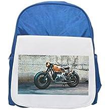 BMW, Vehicle, Ride, bicicleta, Journey Printed Kid 's Blue Backpack, Cute de mochilas, Cute Small de mochilas, Cute Black Backpack, Cool Black Backpack, Fashion de mochilas, large Fashion de mochilas, Black Fashion