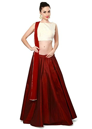 Lehenga (Women's Clothing Lehenga Choli for women latest designer wear Lehenga collection in latest Lehenga beautiful bollywood Lehenga for women party wear offer designer Lehenga)  available at amazon for Rs.199