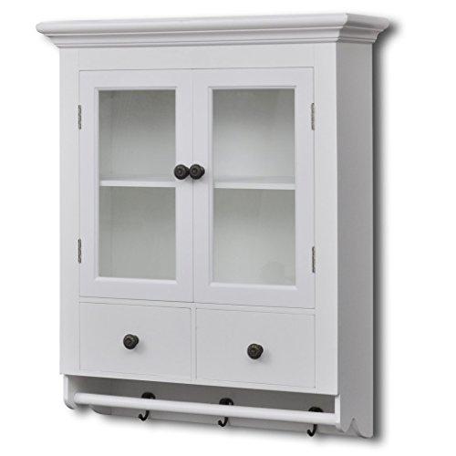 vidaxl-pensile-a-muro-cucina-bianco-in-legno-con-anta-di-vetro