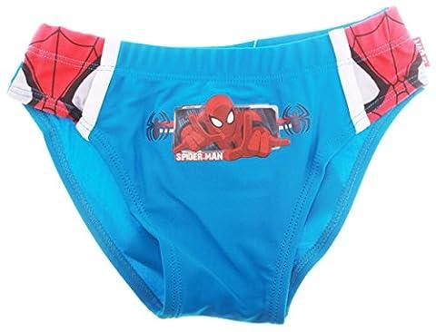 Slip de bain enfant garçon Spider-man Bleu et Marine de