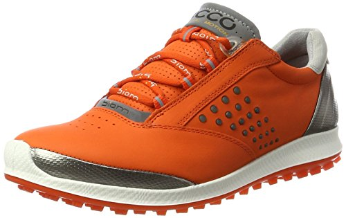 Ecco Damen Women's Golf Biom Hybrid 2 Golfschuhe, Orange (1604FIRE), 37 EU