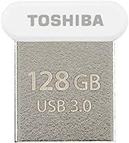 توشيبا ذاكرة فلاش يو اس بي 128 جيجابايت - THN-U364W1280E4