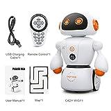 JullyeleDEgant Intelligente Cady Wigi JJRC R6 Fernbedienung Programmierbare Tanzen USB RC Roboter Frühe Pädagogische Spielzeug für Kinder