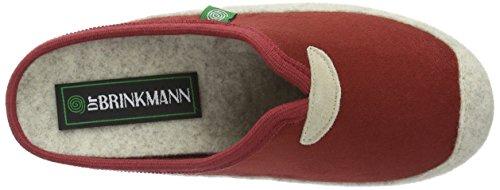 Dr. Brinkmann - 320418, Pantofole Donna Rosso (Rosso (Rosso))