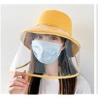 Gorra protectora extraíble con visera antisaliva, antisalpicaduras, tapa protectora para exteriores
