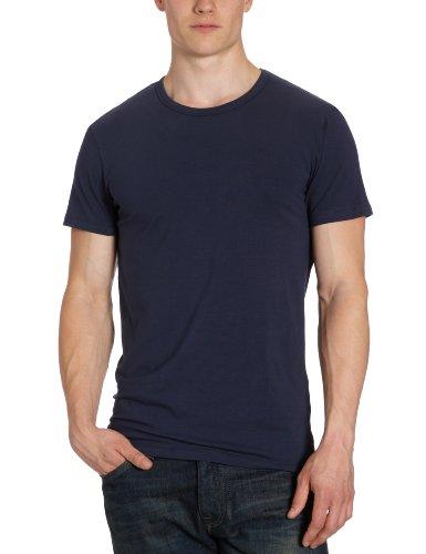 JACK & JONES Herren T-Shirt 12058529 Basic O-Neck Tee, Blau (NAVY BLUE 19-4024 TCX), M / 50 (Navy Tragen T-shirt)