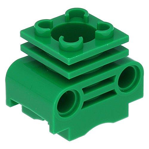 10 x LEGO® Technik Motor Zylinder ohne Seitenschlitze Grün (Seitenschlitze)