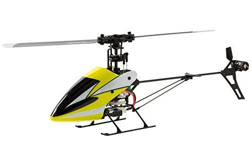 XciteRC 13004500 Flybarless 245 Trainer V2.0 Single Blade-4 Kanal ARTF Hubschrauber V2.0 Single