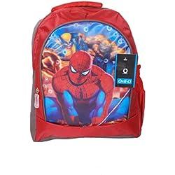 Spiderman Cartoon Printed School Bag For Kids