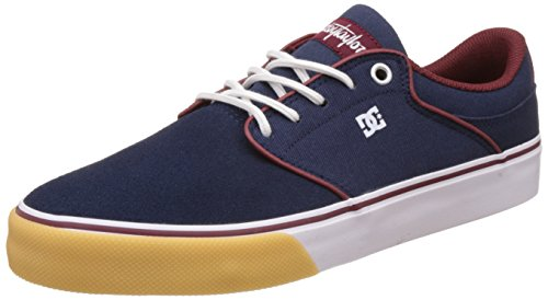 dc-shoes-mikey-taylor-vulc-baskets-basses-homme-navy-red-43-eu