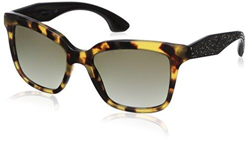 occhiali da sole Miu Miu 09PS Tortoise, nero quadrato