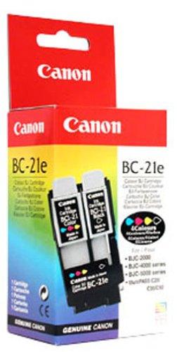 Canon BC-21e Cartouche d'encre d'origine Noir, jaune, cyan, magenta