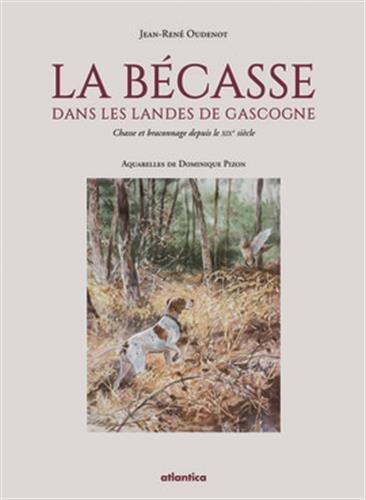 La Becasse Dans les Landes de Gascogne Chasse et Braconnage Depuis le Xixe Siecle par Oudenot Jean-Rene