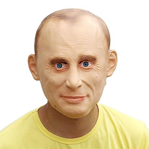 PartyCostume - Wladimir Putin Maske - Präsident Berühmte Leute Promi Die ()