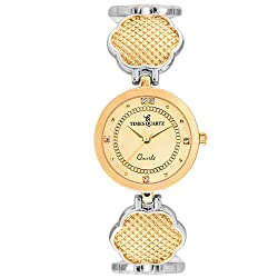 Timesquartz Party Wear Watches for Women - Rose Gold Womens Analogue Watch