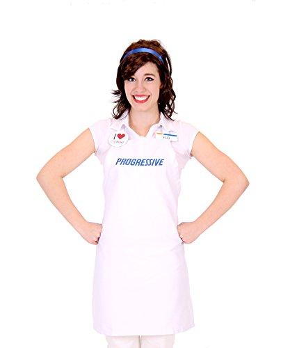 on Flo Insurance Mädchen Kostüm, One Size (Progressive Flo)
