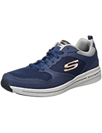 Skechers Herren Qtr Overlay Lace Up Wforwardslashair-Coo Outdoor Fitnessschuhe
