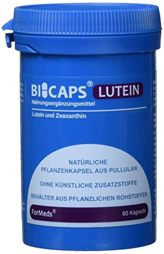 Formeds BICAPS LUTEIN Lutein - 20 mg Zeaxanthin - 2 mg, 60 Kapseln