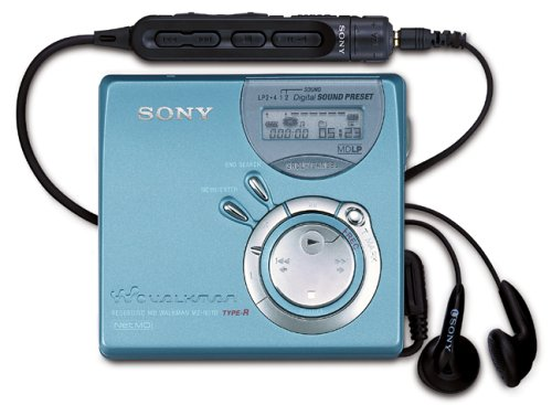 Sony MZ-N510/l MiniDisc Rekorder blau