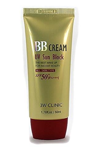 3W Clinic - UV Sun Block BB Creams SPF50 PA+++