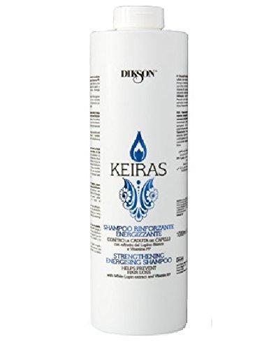 DIKSON KEIRAS RIFORZANTE SHAMPOO shampooing pour l'automne avec Lupino blanc Vitamine P 1000 ml