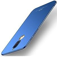 Funda Huawei Mate 10 Lite, MSVII® Ultra-delgado Funda Case Cover + Protector de Pantalla Para Huawei Mate 10 Lite (no es compatible con Huawei Mate 10) - Azul JY00364