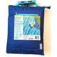 Lightspeed Outdoors Quilted Outdoor water -Resistant Blanket 1.53m X 1.78m(5.01 X 5.83) for Camping, Beach and Picnics