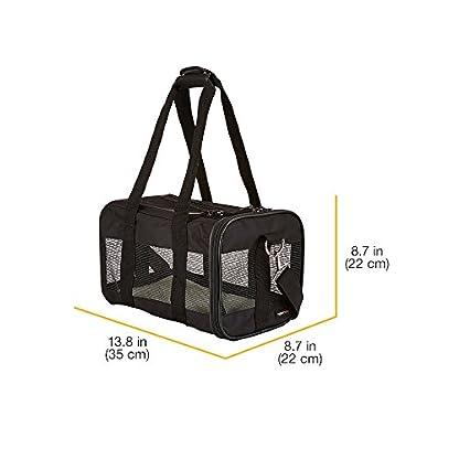 Amazon Basics Pet carrier bag, soft side panels 11