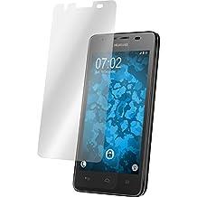 2 x Huawei Ascend G510 protector de pantalla claro Películas Protectoras