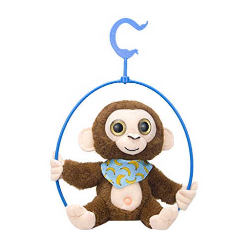 Auto-Modell Plüsch Bildung Squishy Spielzeug aufblasbares Spielzeug im Freien Spielzeug,Niedliches Mimikry-Haustier, das Affen spricht, wiederholt, was Sie elektronisches Plüsch-Spielzeug (Fliegender Affe Kostüme)