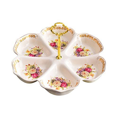 Hyvaluable piatto da frutta piatto da frutta in ceramica piatto da frutta europeo piatto da caffè per la casa piatto da dessert ktv piatto da dessert