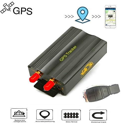 Localizador GPS Rastreador GPS Coche GPS Tracker Dispositivo de Rastreo de Vehículos GPS SMS GPRS Sistema de Seguimiento en Tiempo Real TK103B