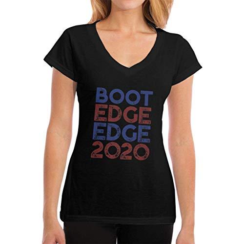 J65EWJ65EJW Frauen T-Shirts Boot Edge Edge 2020 V-Neck Short Sleeve T-Shirt Tshirts Tee (Boot Edge)