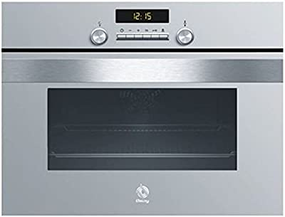 Balay 3HB458XCA Electric oven 50L A Gris, Acero inoxidable - Horno (Medio, Electric oven, 50 L, 50 L, 50 - 275 °C, 2000 W)