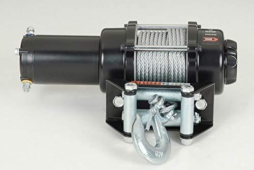 Awsgtdrtg Treuil électrique de câble métallique de 12V 3000 LBS pour remorquer ATV/UTV/Bateau Hors Route