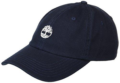 Timberland Herren Cotton Twill Baseball Cap, Saphir, dunkel, Einheitsgröße (Timberland Hat)