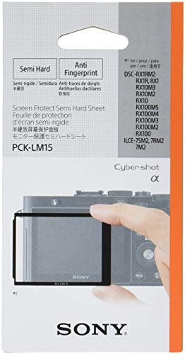 Sony PCK-LM15 Robuste LCD-Schutzabdeckung für DSC-RX1/DSC-RX100 Robuste Lcd-display