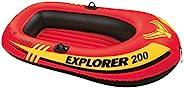 intex Explorer 200 Boat Set, Multi-Colour, 58331