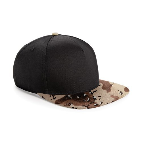 Beechfield - Casquette de baseball camouflage rétro - Homme