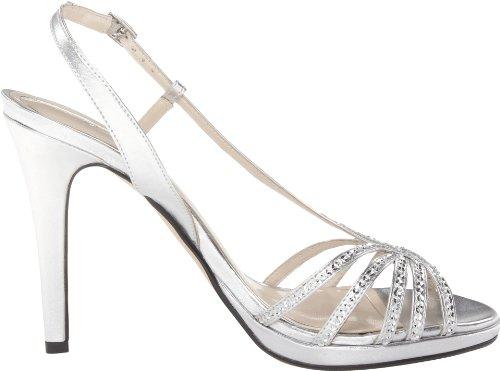 Caparros, Sandali donna Silver Metallic