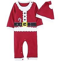 A J Design Bambino Ragazzo Natale Pagliaccetto Elfo Costume con Cappello 1b41a61645f8