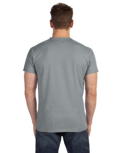 Gray Nano V Neck Hanes T T Shirt Mens Vintage 7Rq88wCv6x